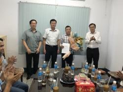 Công bố Quyết định bổ nhiệm Phó Tổng Giám Đốc Phụ trách điều hành (Quyền Tổng Giám Đốc) Công ty Vina Toyo
